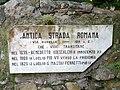Sestri Levante-antica strada romana-targa.jpg