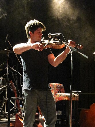 Seth Lakeman - Lakeman performing at the clubCANN, Stuttgart, 2014