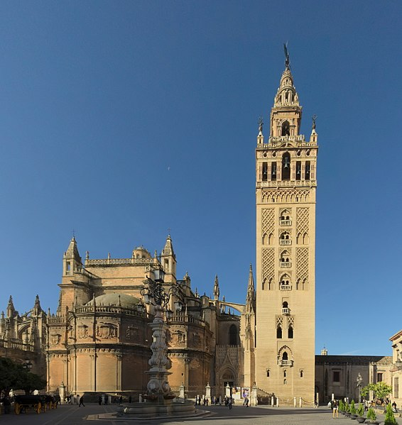 File:Sevilla Cathedral - Giralda.jpg