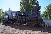 Shay No 5 steam locomotive in Williams, Arizona (04).jpg