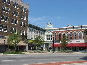 Shelbyville, Indiana - Image: Shelbyville Commercial Historic District