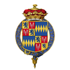 Shield of arms of Algernon Percy, 4th Duke of Northumberland, KG, PC.png