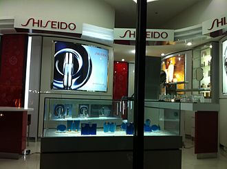 Shiseido - Shiseido shop in Hanoi, Vietnam