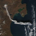 Shiveluch activity (ash plume), 2012-11-06.png