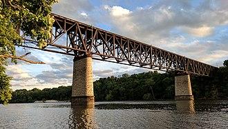 Short Line Bridge - Short Line bridge in 2017