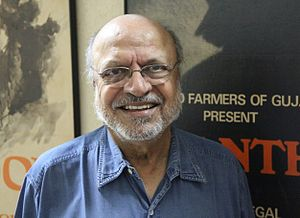English: Photograph of Shyam Benegal in his of...