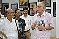 Shyamal Kumar Sen with Biswatosh Sengupta Visiting 43rd PAD Group Exhibition - Kolkata 2017-06-20 0284.JPG