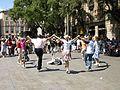 Si balla la sardana fuori la cattedrale - panoramio.jpg