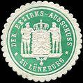 Siegelmarke Der Bezirks - Ausschuss zu Lüneburg W0234420.jpg