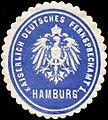Siegelmarke Kaiserlich Deutsches Fernsprechamt 1 - Hamburg W0228811.jpg