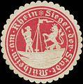 Siegelmarke Siegel der Stadt Mühlheim am Rhein W0345285.jpg
