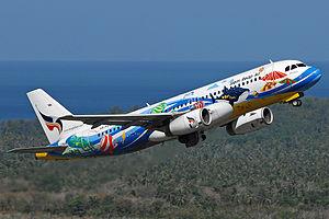 Bangkok Airways - An Airbus A320-200, Phuket International Airport