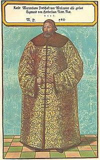 Sigismund von Herberstein in russian dress1.jpg