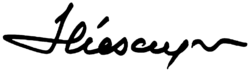 Signature of Ion Iliescu.png