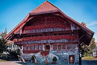 Tafers - Sigristen House