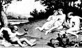 Silène et les Grâces - Paul Milliet.png