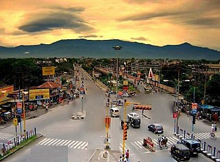 Siliguri Metropolitan city in West Bengal, India