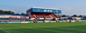 Moss Rose - Image: Silk FM Main Stand