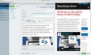 SilverStripe - SilverStripe 3.1 Administration Panel and Simple theme