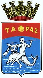 The coat of arms of Taranto