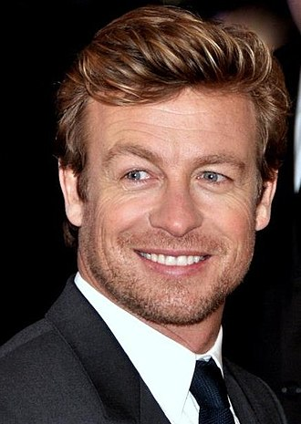 Simon Baker - Baker in Paris at the French premiere of I Give It a Year, 2013