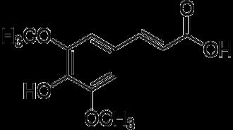 Sinapinic acid - Image: Sinapic acid