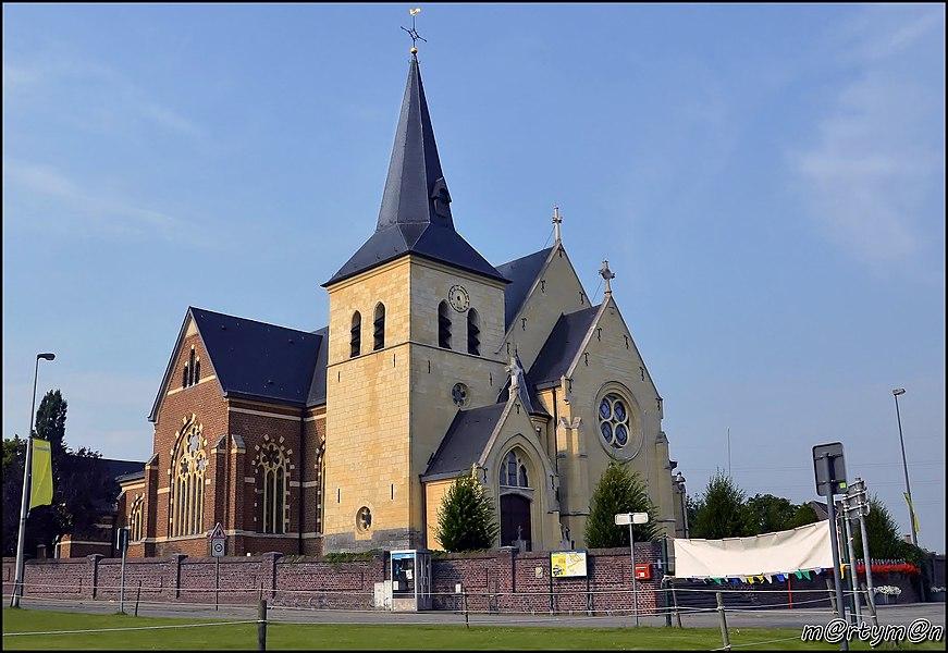 Sint-Willibrorduschurch, Reppel, Belgium