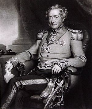 Charles Davidson Bell - Lt-Gen. Sir John Bell KCB – Mezzotint – Painted by John Lucas, engraved by Henry Cousins