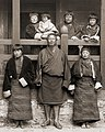 Sir Ugyen Wangchuck and his family, 1905 (cropped).jpg