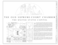 Site Plan and Map - U.S. Capitol, Old Supreme Court Chamber, Intersection of North, South, and East Capitol Streets and Capitol Mall, Washington, District of Columbia, DC HABS DC-38-B (sheet 1 of 10).png