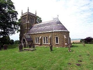 Sixhills village in United Kingdom