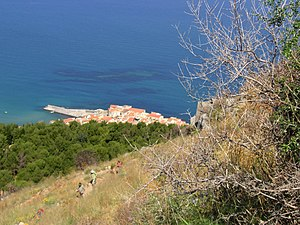 View to Cefalù, Sicily Italiano: Vista del por...
