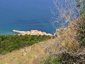 View to Cefalù, Sicily Italiano: Vista del por...