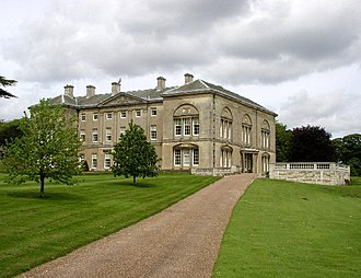 Sledmere House - Sledmere House, looking northwards