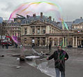 Soap bubble performance, Place du Palais-Royal, Paris 2013.jpg