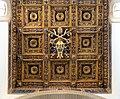 Soffitto a lacunari di giovanni di pietro detto il pazera su dis. di antonio da sangallo il g., 1518-25, 04 stemma paolo III aggiunto nel 1536.jpg