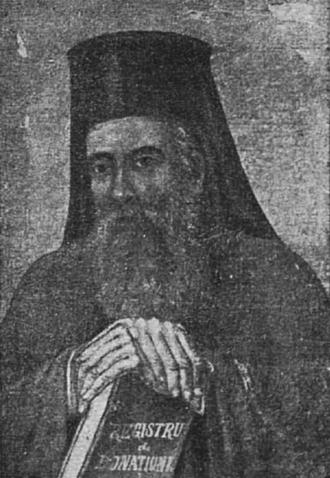 Scarlat Vârnav - Portrait of Vârnav in monastic clothes