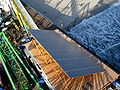 Solar panel for the ferris wheel in Santa Monica 2009.jpg