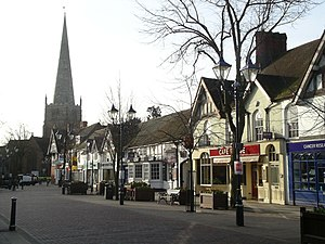 Solihull - Image: Solihull High Street