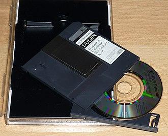 "Data Discman - German ""Duden"" dictionary for the Data Discman, 1992"