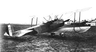 Sopwith 1½ Strutter - French Sopwith 1B.2 Strutter in late war camouflage