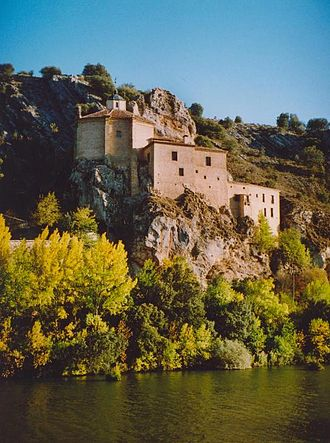 Saturius of Soria - Hermitage of San Saturio near Soria.