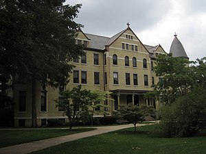 Sorin Hall (University of Notre Dame) - Sorin Hall Exterior
