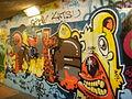Sottopassaggio delle cure, graffiti 06.JPG