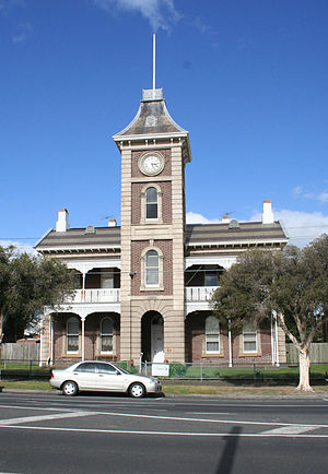 South Geelong, Victoria - Image: South geelong clocktower