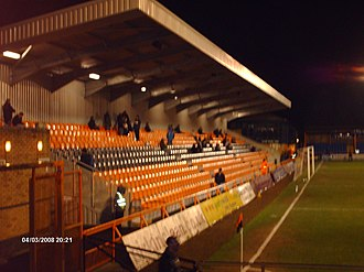 Underhill Stadium - Underhill Stadium, South Stand At Night