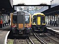 Southampton Central - SWR 450017 and 158887.JPG