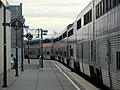 Southbound Coast Starlight at Oakland, January 2018.JPG