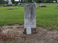 Southern Cross of Honor Grave