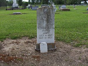 Southern Cross of Honor - Image: Southern Cross of Honor Grave